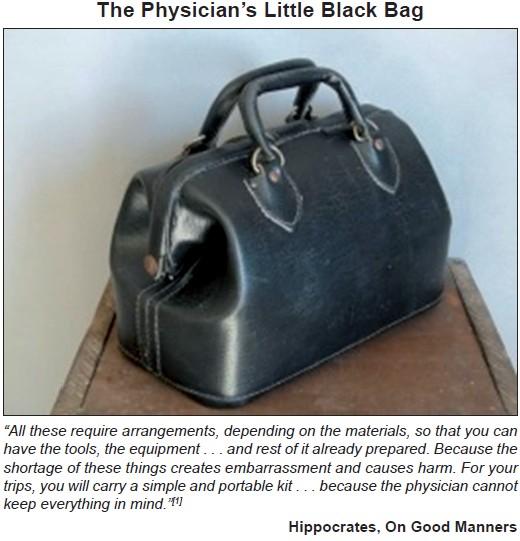 c0f9b8fdb799 The Physician s Little Black Bag
